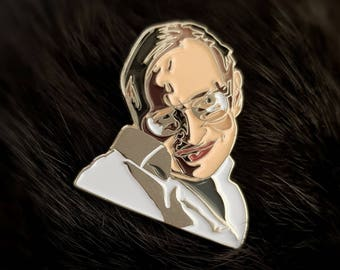 POP Science Enamel Pin - Stephen Hawking