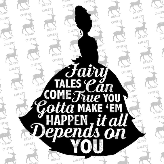 Princess And The Frog Dream Disney Tiana Digital File Svg Etsy