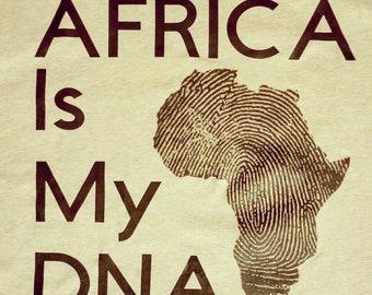 Africa DNA Shirt