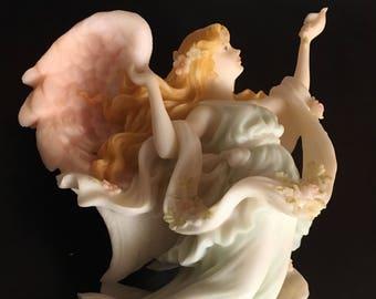 "Angel Figurine ""Summers Delight"" Chelsea by Roman"