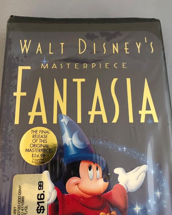 Walt Disney Masterpiece Fantasia 1132 Original Factory Etsy