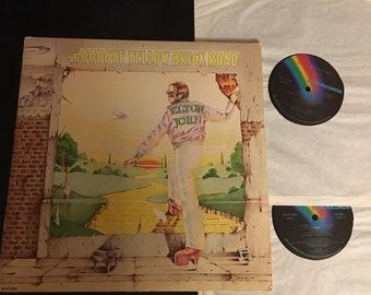 Elton John Goodbye Yellow Brick Road LP Vinyl; MCA2-10003