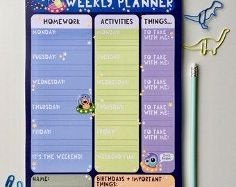 Aliens Weekly Planner