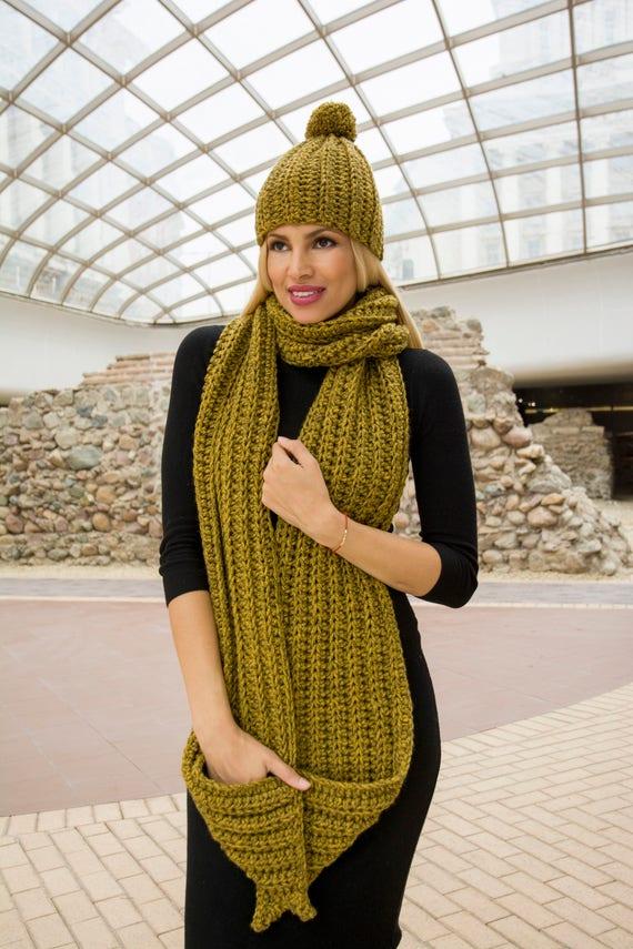Manush Calendario.The Manush Hat Easy Pdf Pattern Men Winter Chunky Crochet Ladies Beanie With Pompom Diy