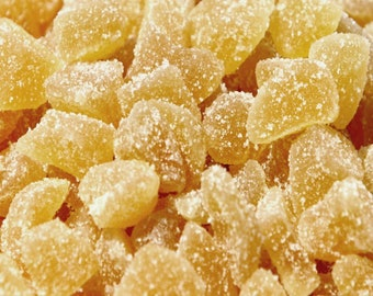 Organic Crystallized Ginger Root Tea Candy