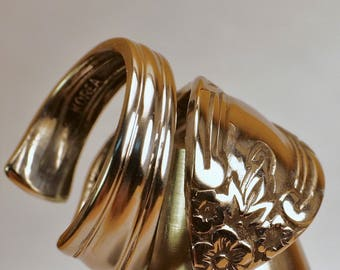 Hand Created, Beautiful and Unique Spoon Ring