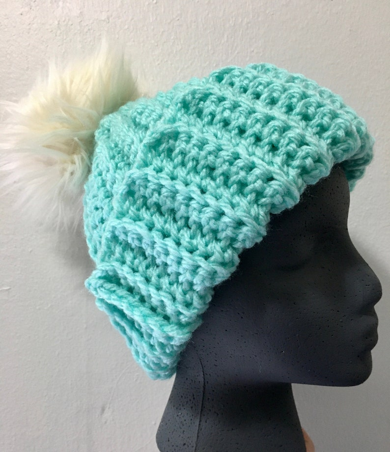 Extra Thick Trojan Beanie; Ribbed Beanie RTS Low Temperature Beanie