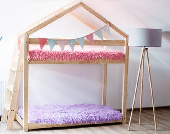 Haus Bett Etagenbett : Hausbett mit schubkasten