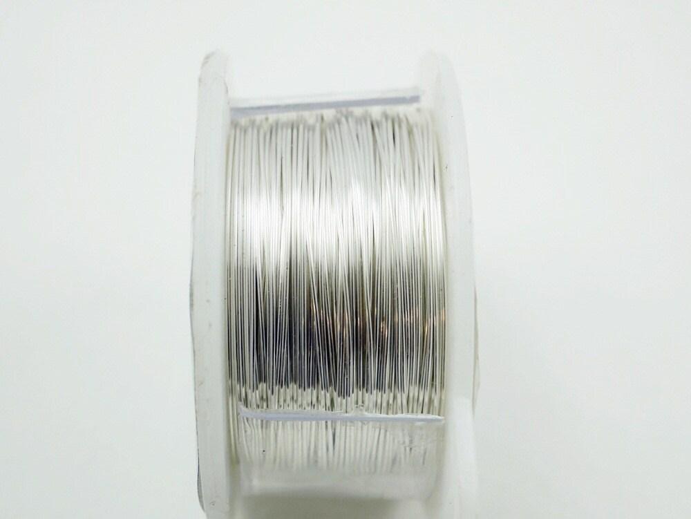 26 Gauge Handwerk Draht Silber Draht Schmuck Draht Hobby | Etsy