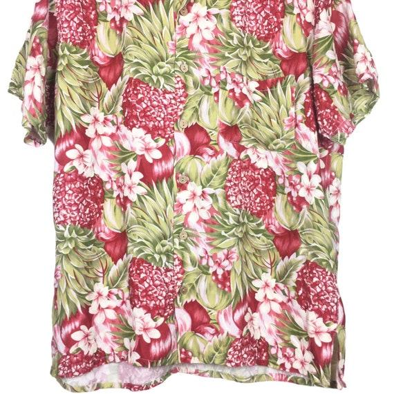 45rpm Studio Handprinted Floral Hawaiian Shirt - image 3