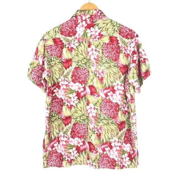45rpm Studio Handprinted Floral Hawaiian Shirt - image 4