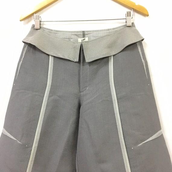 """Issey Miyake A-POC Wide Leg Pants W28"""" - image 2"""