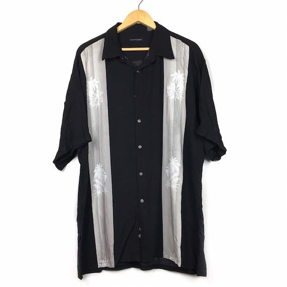 Pierre Cardin 100% Rayon Aloha Shirt Size XL