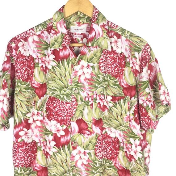45rpm Studio Handprinted Floral Hawaiian Shirt - image 2