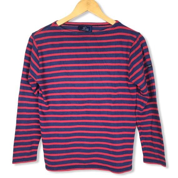 Vtg Saint James Breton Stripe Sailor Shirt