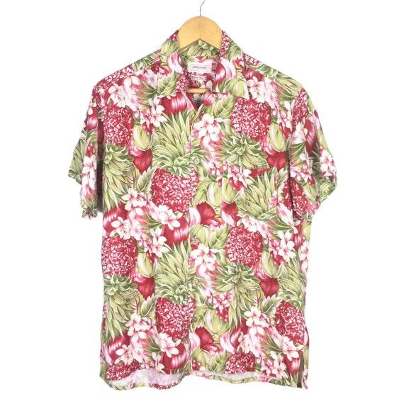 45rpm Studio Handprinted Floral Hawaiian Shirt