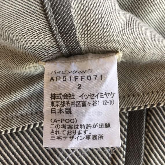 """Issey Miyake A-POC Wide Leg Pants W28"""" - image 10"""