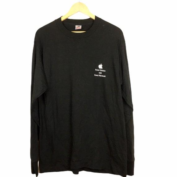 Vtg Apple Macintosh L/S T-Shirt