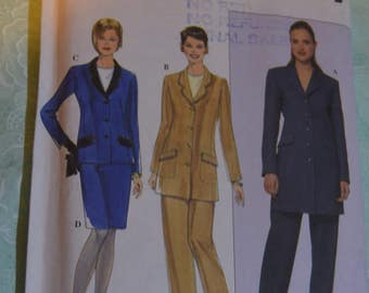 Simplicity 8795 Misses / Miss Petite Jacket Skirt and Pants Sewing Pattern - UNCUT - Size 6 8 10 12