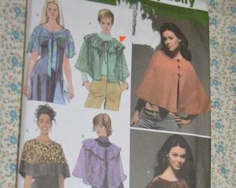 Simplicity 4492 Misses Caplets Sewing Pattern - UNCUT Size Xsm - Sml - Med