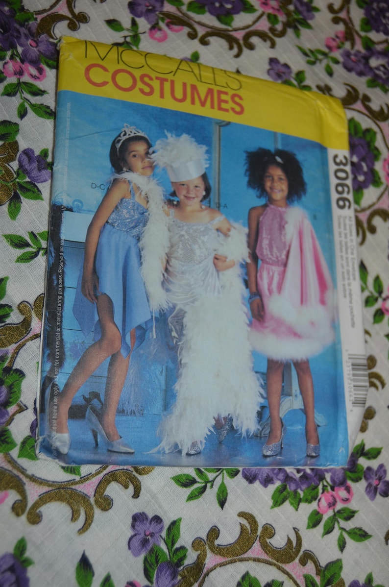 bd7e604b5deb5 McCalls 3066 Childrens and Girls Dress Up Clothes Sewing   Etsy