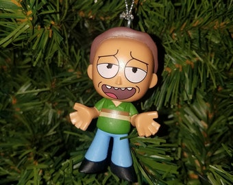 rick and morty christmas ornament jerry