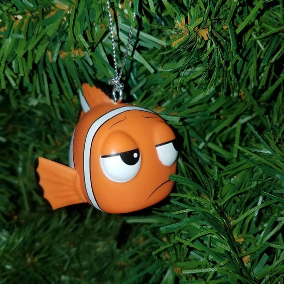 image 0 - Disney Pixar Finding Nemo Christmas Ornament Marlin The Clown Etsy