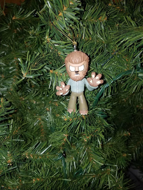 Horror Christmas Ornament Wolfman | Etsy