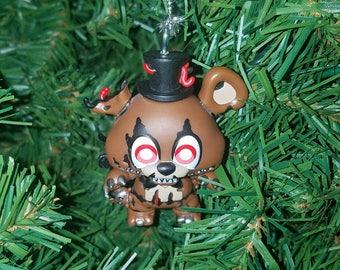 Five Nights at Freddy's Christmas Ornament Nightmare Freddy FNAF