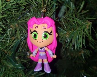 Teen Titans Christmas Ornament Starfire