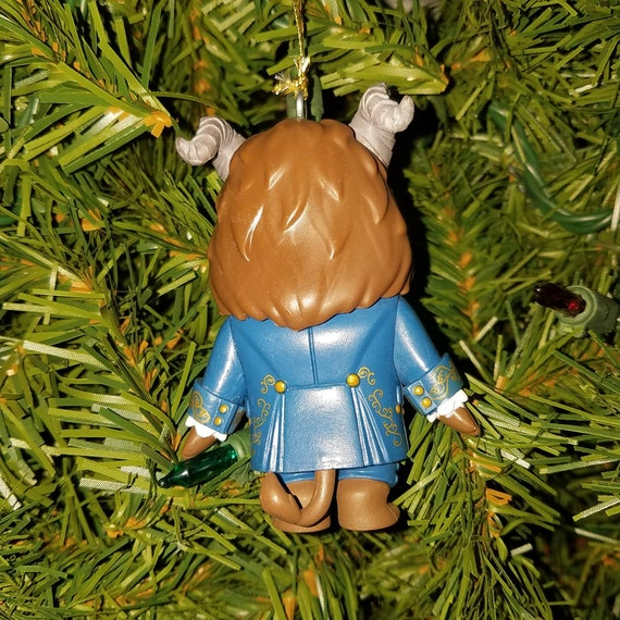 disney beauty and the beast christmas ornament the beast