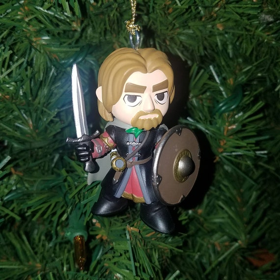 Lord Of The Rings Christmas Ornaments.Lord Of The Rings Christmas Ornament Boromir