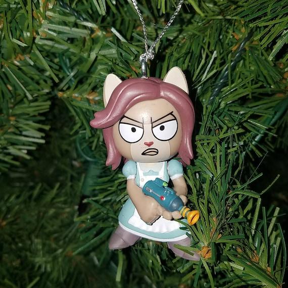 Rick And Morty Christmas Ornaments.Rick And Morty Christmas Ornament Arthricia