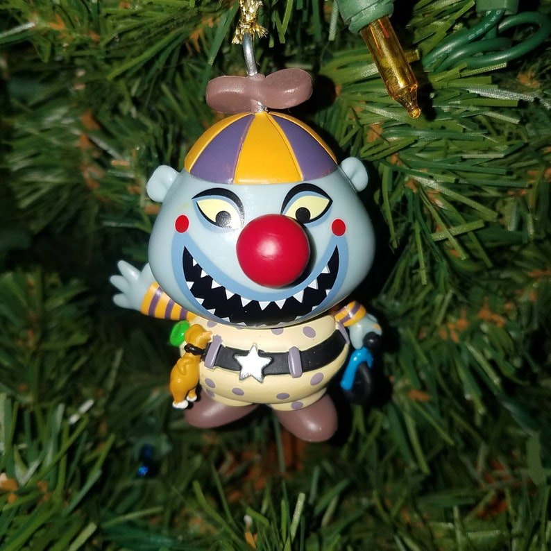 Nightmare Before Christmas Clown With A Tear Away Face.Disney The Nightmare Before Christmas Ornament Clown With The Tear Away Face Nbc