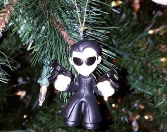 Matrix Christmas Ornament Neo