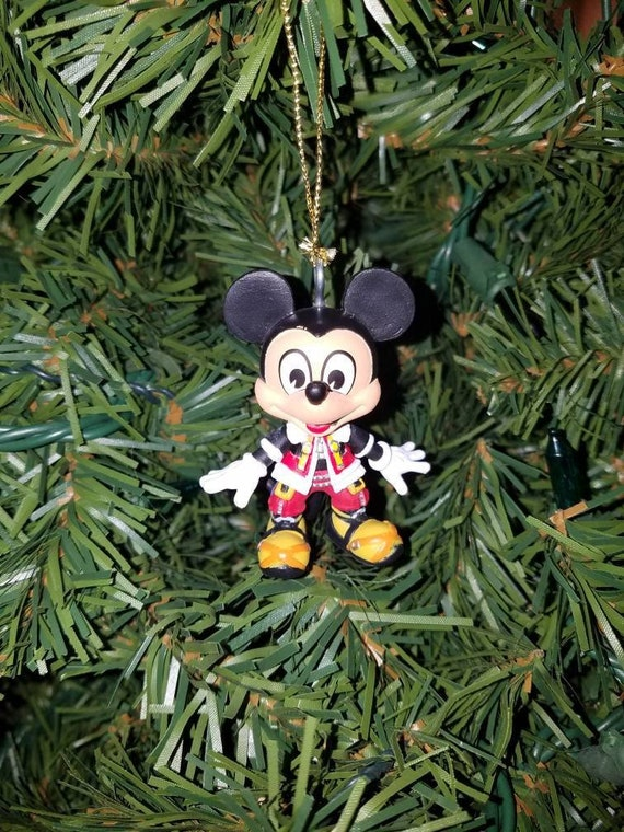 Kingdom Hearts Christmas.Kingdom Hearts Christmas Ornament Mickey Mouse