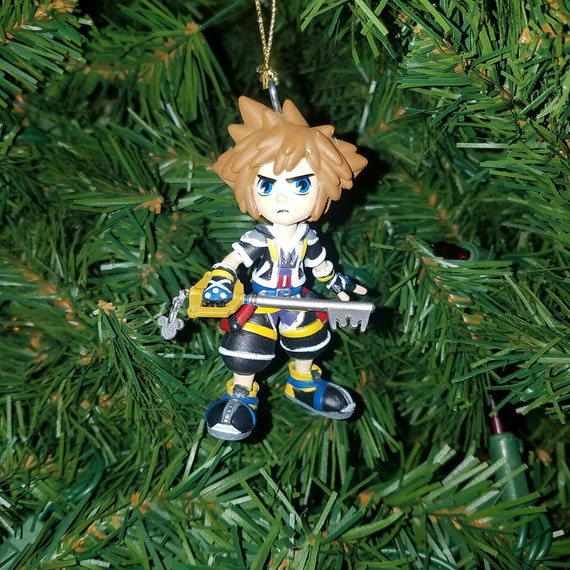 Kingdom Hearts Christmas.Kingdom Hearts Christmas Ornament Sora