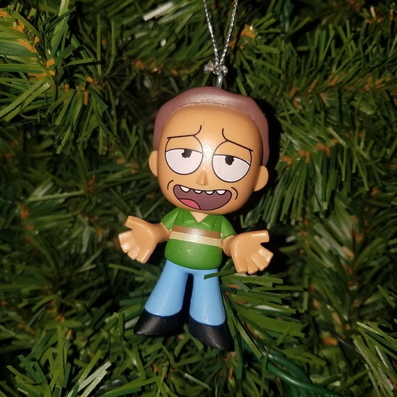Rick And Morty Christmas Ornaments.Rick And Morty Christmas Ornament Jerry