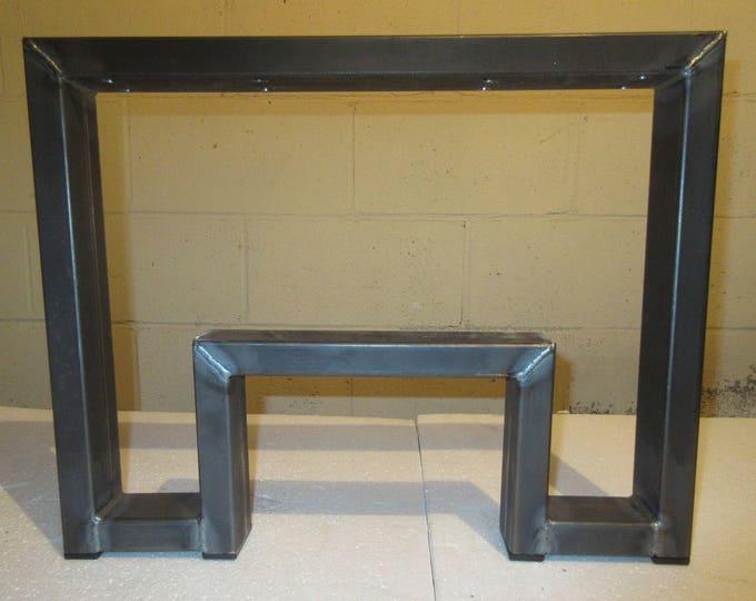 Coffee Table Metal Table Legs, Modern Industrial Design