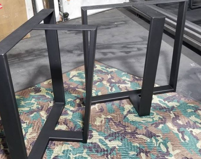 T shaped Table Base , Super Study Table Base, Metal Table Legs