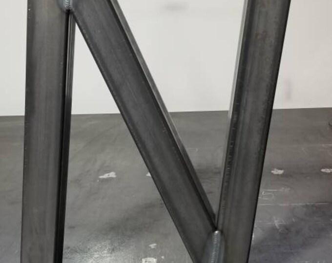 N Shaped Metal Table Legs