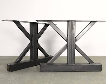 Delicieux Farmhouse Table Metal Legs   Etsy