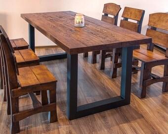 Metal table base | Etsy