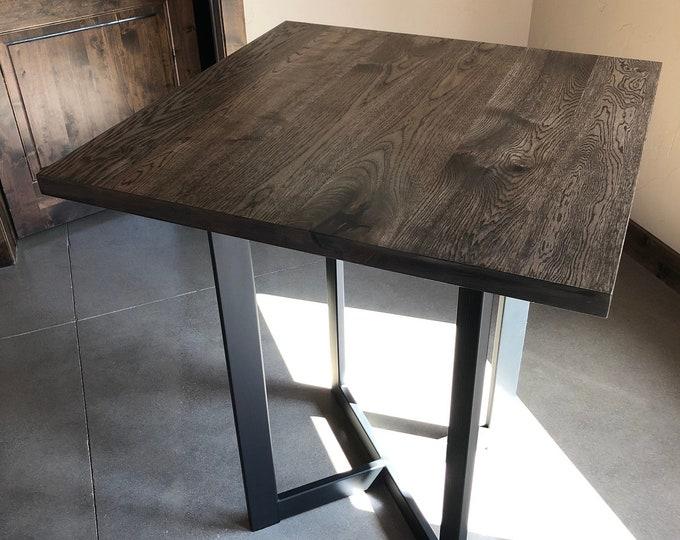 Steel Table Base, Modern Clean Look