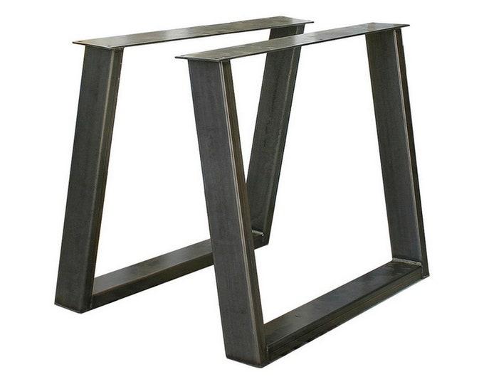 Metal Table Legs , Angled Table Base