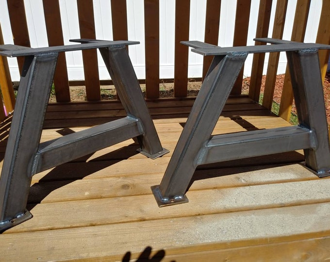 A Shaped Table Legs, Set of 2