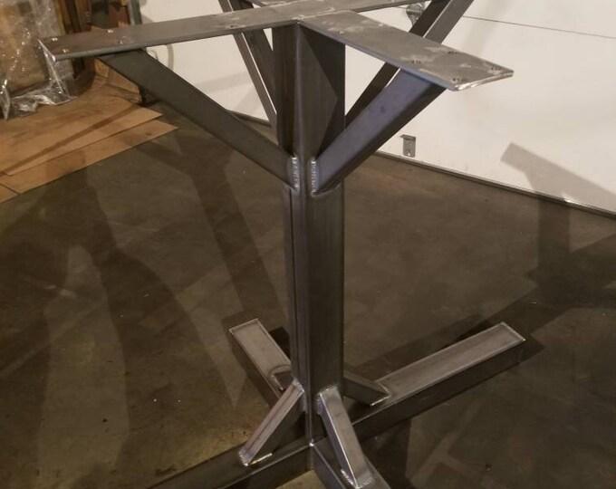 Metal Table Base-Industrial