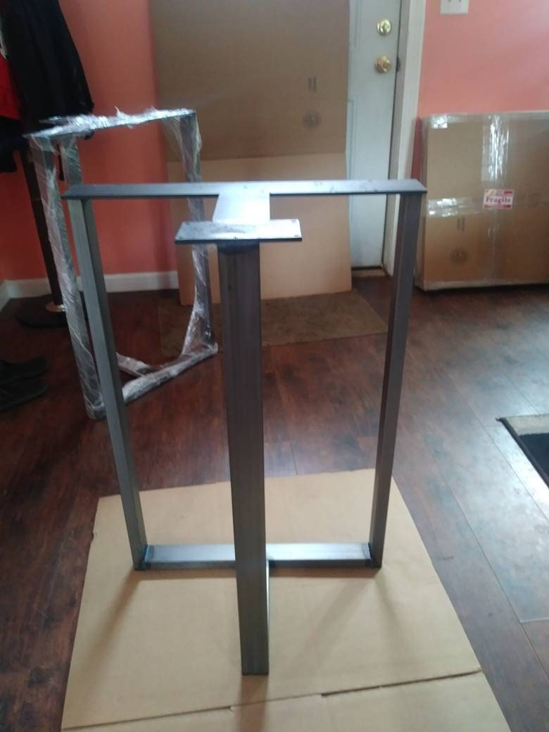 Counter Height Metal Table Legs Bar Height Metal Legs