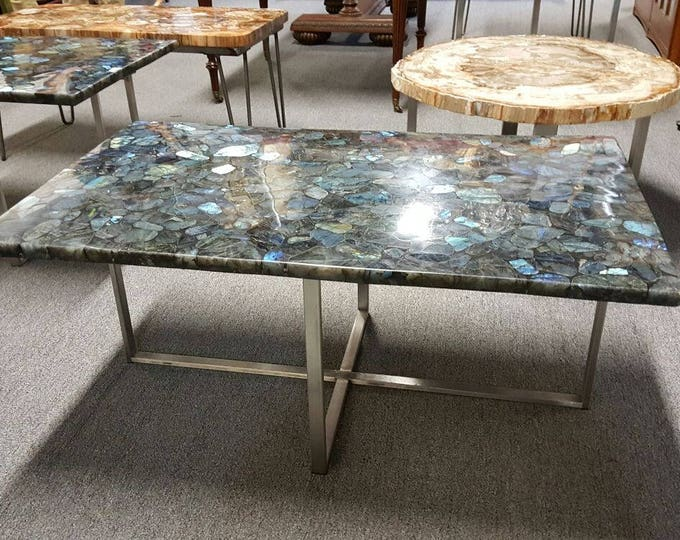 Coffee Table Stainless Steel Base