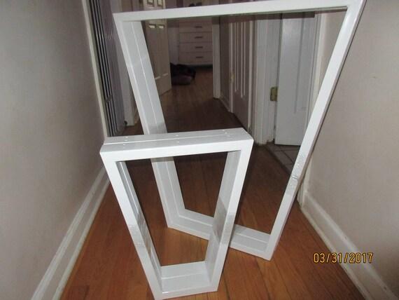 Gambe da tavolo in metallo - Gambe da tavolo trapezoidi metalli - Gambe  metalliche